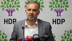 """Ayhan Bilgen: Türkiye, Ruslara kolunu kaptırdı HDP Sözcüsü Ayhan Bilgen, iktidarın Afrin'e yönelik operasyon planına karşı çıktı. Afrin'den Türkiye'ye bir tehdit olmadığını belirten Bilgen, """"Türkiye Rusları ikna etmek için çaba sarf ediyor. Kürtlere el uzatmak yerine kolunu Ruslara kaptırmış bir dış politika ile karşı karşıyayız"""" dedi."""