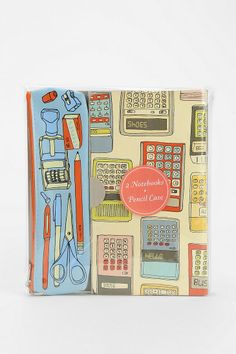Notes & Calculations Stationery Set #urbanoutfitters