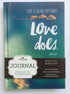 Bible Journal Love Does Bob Goff Faith by DrawingOnFaith on Etsy