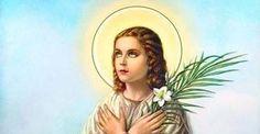 Maria Goretti, pray for us! Maria Goretti, Catholic News, Pray For Us, Mona Lisa, Princess Zelda, St Maria, Artwork, Fictional Characters, Blog