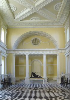 High Quality Robert Adam Interiors | In Middlesex Was Transformed By Robert Adam During  In The 1960u0027s;