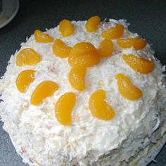 "Million Dollar Cake | ""This recipe was AMAZING ! I made this for my parents and siblings and they all loved it ! There was a ton of frosting left over and we used it as a fruit dip with pineapple and mango...I wil definetly be saving this."""
