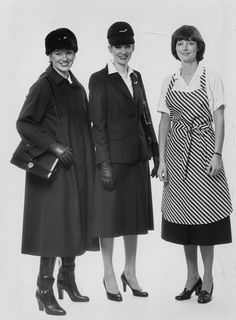 Finland 1979 Finnair Flight attendant costume