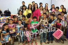 Ariska Putri delighted to meet children at orphanage and school