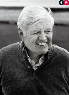 Ted Kennedy taken for GQ Magazine