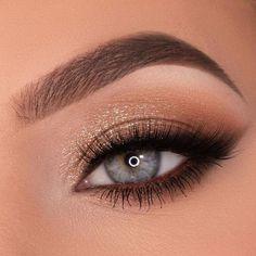 Cute Eye Makeup, Fancy Makeup, Formal Makeup, Creative Eye Makeup, Makeup Eye Looks, Eye Makeup Art, Simple Eye Makeup, Natural Eye Makeup, Smokey Eye Makeup