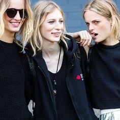 Models at NYFW
