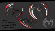 Batman Beyond Batarang by Ninja-Robot on DeviantArt