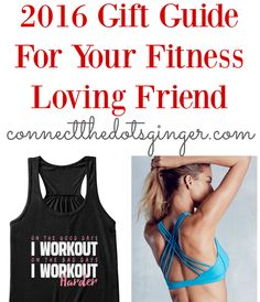 Gift Giving Guide For Your Fitness Loving Friends Christmas