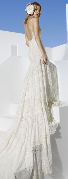 16 Beauty Lace Bohemian Wedding Dress Designs – Top Cheap Unique Holiday Party - Easy Idea (6)