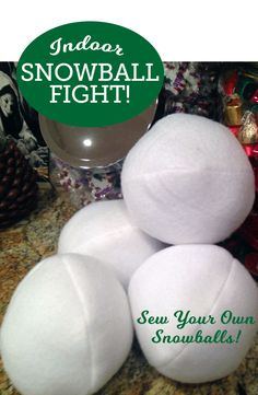 Indoor Snowball Fight!