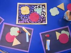 Inspired Montessori and Arts at Dundee Montessori: Insets Art Project