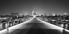 Dave Butcher, St Pauls Cathedral from London Millenni