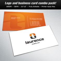 A logo business card set design suitable for sports themes logo a logo business card set design suitable for fashion and jewelry themes logo reheart Choice Image