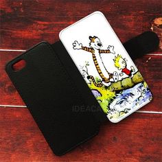Calvin And Hobbes Wallet Cases | ideacases.com - cute graphic tees    ORDER HERE => https://ideacases.com/shop/