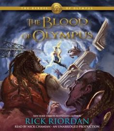 The Blood of Olympus By Rick Riordan Here comes the final! It seems that Rick Riordan really like five books? Percy Jackson has f. Rick Riordan Bücher, Rick Riordan Books, Good Books, My Books, Free Books, Blood Of Olympus, Olympus Series, Camp Jupiter, Trials Of Apollo