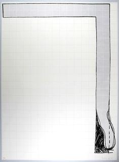 """Erwin Bechtold: Untitled, 1975: """"UNTITLED"""", 1975 Original-Farbserigraphie auf leichtem Karton datiertes und handsigniertes P/A Exemplar 86,5 x 63,5 cm ... The Originals, Poster Poster, Posters, Paper Board, Poster"""