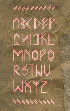 various typefaces - Nina Gregier