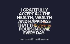 Daily Affirmations 10 November 2017