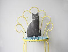 Animal Cushions, Handsome, Table Lamp, Black Cats, Espresso, Prints, Fun, Animals, Shop