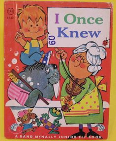 ''I Once Knew'', illustrations by Anne Sellers Leaf ~ Rand McNally 1967 | eBay