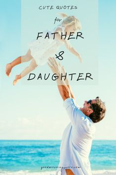 A beautiful selection of short, famous, cute and funny Father Daughter Quotes, Sayings and Poems with images. Only inspirational father daughter quotes. Our Love Quotes, Cute Quotes, Quote Of The Day, Funny Quotes, Funny Father Daughter Quotes, Fathers Day Quotes, Good Good Father, Morning Quotes, Make You Smile