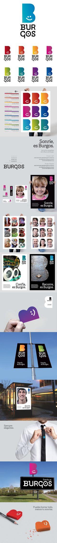 Identity for Burgos, Spain #city_brand 2012
