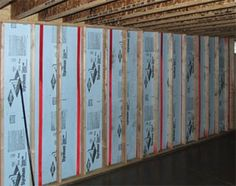 Luxury Insulation Panels for Basement Walls