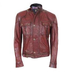 Belstaff Men Old Leather Gangster Antique Red  £340.00  http://www.8minzk.com/p/Belstaff-Jackets/