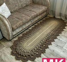 Easy Knit Baby Blanket, Crochet Heart Blanket, Knitted Baby Blankets, Crochet Carpet, Crochet Home, Crochet Rug Patterns, Crochet Designs, Crochet Tablecloth, Crochet Doilies