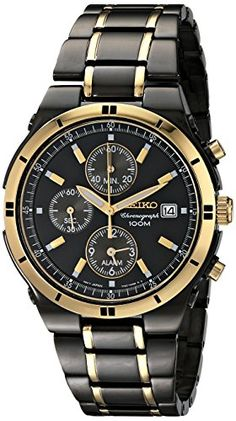 Seiko Men's SNAA30 Stainless Steel Two-Tone Watch. Product details http://astore.amazon.com/usxproducts-20/detail/B001BMFBXC