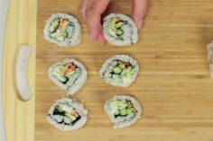 Video: How to make inside out Sushi rolls