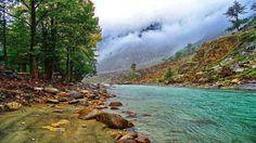 Kunhar River In Swat Valley Pakistan