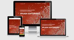 Neuer Webauftritt der Splash Softdrinks mit TYPO3 CMS 7.