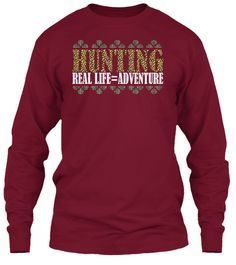 Hunting Tees Limited Edition! Cardinal Red T-Shirt Front
