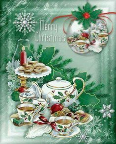 Stunning image - - from the clip art category animated Christmas Wishes gifs & images! Christmas Wishes Text, Merry Christmas Images, Christmas Tea, Christmas Scenes, Vintage Christmas Cards, Christmas Pictures, Christmas Greetings, Christmas Holidays, Christmas Decorations