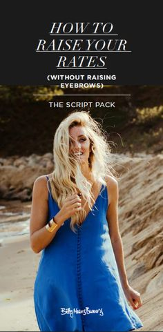 Feeling intimidated about raising your rates in your coaching or creative business? Don't worry lady - I've got your back.  Grab this FREE done-for-you script pack.