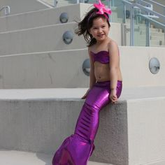 Fuchsia Mermaid Tail