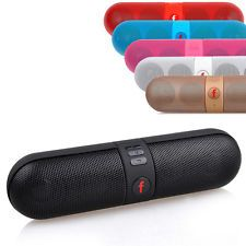 Mini Portable Pill Box Bluetooth Wireless Stereo Speaker For iPhone Tablet PC