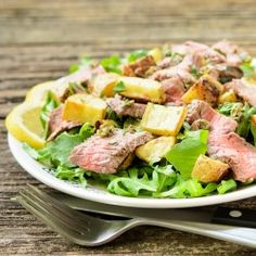 Grilled thai beef tacos 2015 certified angus beef brand recipe lemon pepper steak salad 2015 certified angus beef brand recipe contest food and wine forumfinder Image collections