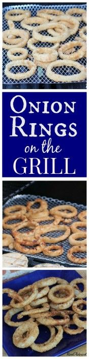 Onion Rings on the grill