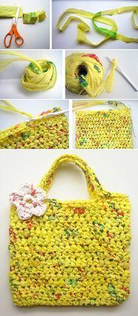 Crochet Tote Bag - Tutorial