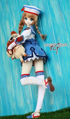 ☆ Monster hunter #Dollfiedream