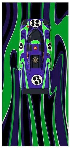 Porsche 917LH Le Mans '70... Road Race Car, Race Cars, Sport Cars, Porsche, Le Mans, 70s Cars, Garage Art, Vintage Race Car, Automotive Art
