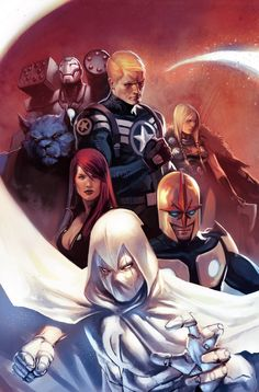 #Avengers #Fan #Art. (Secret Avengers Vol.1 #1 Cover) By: Marko Djurdjevic. (THE * 5 * STÅR * ÅWARD * OF: * AW YEAH, IT'S MAJOR ÅWESOMENESS!!!™)[THANK U 4 PINNING!!!<·><]<©>ÅÅÅ+(OB4E)