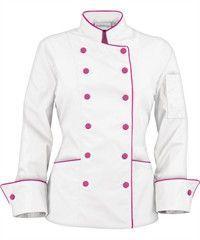 love this chef coat, i want ! Chef Dress, Restaurant Uniforms, Work Uniforms, Uniform Design, Coats For Women, Chef Jackets, Work Wear, Chef Coats, Clothes