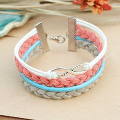 Infinity bracelet- karma infinity bracelet for girlfriend, bracelet for her