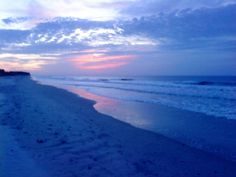 Taken with my phone, Sunrise at North Topsail Island beach in NC