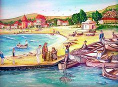 France, Rose, Painting, Art, Art Background, Pink, Painting Art, Kunst, Paintings