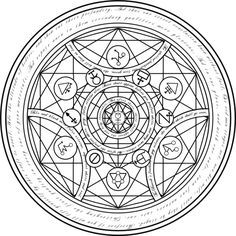 real alchemy transmutation circles - Google Search